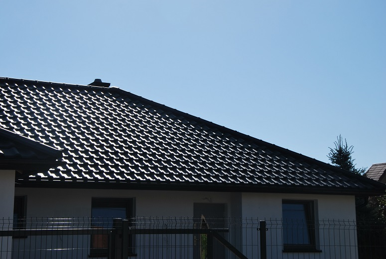 Creaton Titania – dachówka ceramiczna realizacja dachu w Zawadach