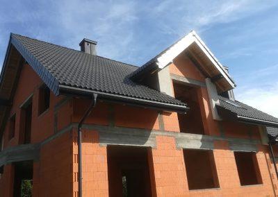 Dachówka cementowa Braas Bałtycka i płytki struktonit