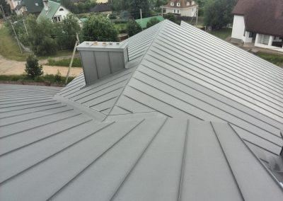 Dach z Blachy Tytanowej Quartz Nexmar