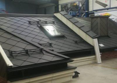 Dach modelowy Karo -płytka i płotki Nexmar