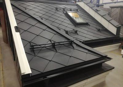 Dach pokazowy Karo i płotki rurowe Nexmar