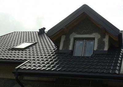 Nexmar Krycie dachów blachodachówka Pruszyński