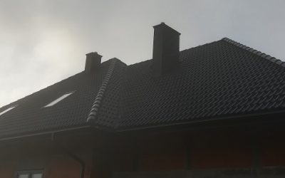 Nexmar i Braas – dachówka Bałtycka czarny cisar