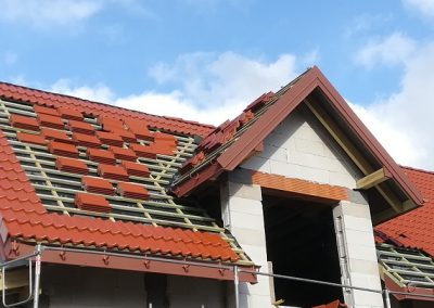 Nexmar dachy rynny elewcacje-  dachówka Braas