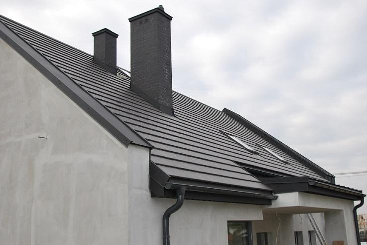 Dachówka Braas Tegalit i panel dachowy PD 510 marki Pruszyński