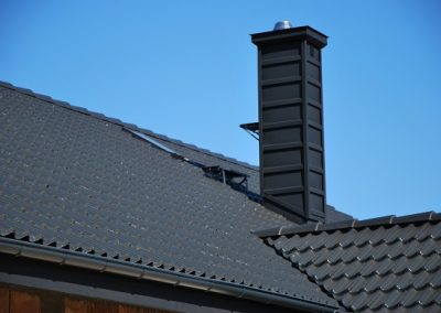 Obróbka komina i komunikacja dachowa Nexmar