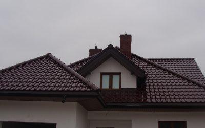 Futura ceramiczna dachówka CREATON dach na osiedlu Dojlidy