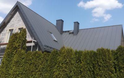 Dach blaszany – PD 510 panel dachowy marki Pruszyński- nowa realizacja Nexmar