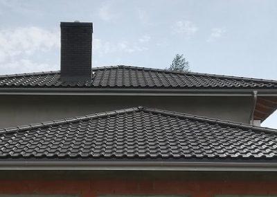 Dachy Nexmar- dachówka ceramiczna Titania czarna glazura