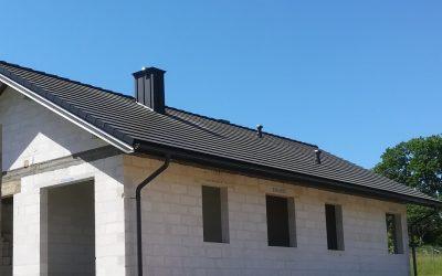 Dachówka  betonowa-  TEVIVA grafiowy cisar marki Braas