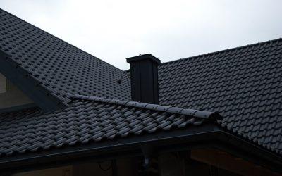 CREATON PREMION czarna matowa angoba – dom w Izabelinie