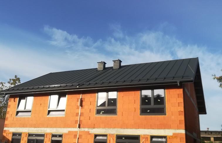 Lawendowa 14 w Białymstoku – dwie wille z dachami od Nexmar