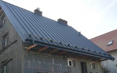 Nexmar OLSZTYN dachy – panel dachowy Ruukki i dach w Szczytnie