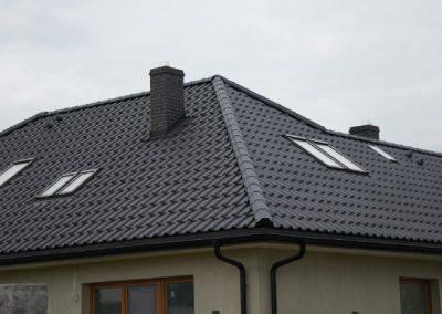 Dach Creaton Rynny Czarne Stalowe Nexmar Dachy