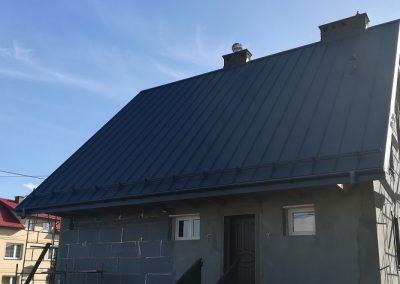 Ruukki blacha panelowa  Nexmar Dachy - realizacja Nexmar Olsztyn