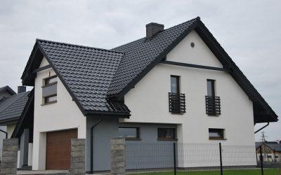 Nexmar Dachy Białystok- dachówka Titania czarna glazura