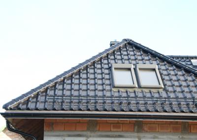 Nexmar Choroszcz Okna Dachowe Fakro, dachówka Titania