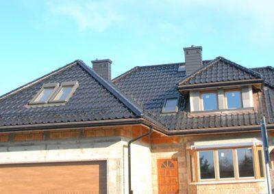 Nexmar dachy Titania Creaton czarna dachówka ceramiczna