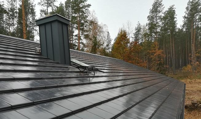 Nexmar Dachy – Dachówki Craton Simpla- płaska dachówka realizacja Sochonie