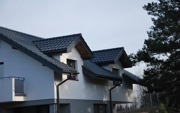 Nexmar Dachy Białystok – Osiedle Domków Jednorodzinnych w  Osowiczach Dachówka Ceramiczna Titania Creaton
