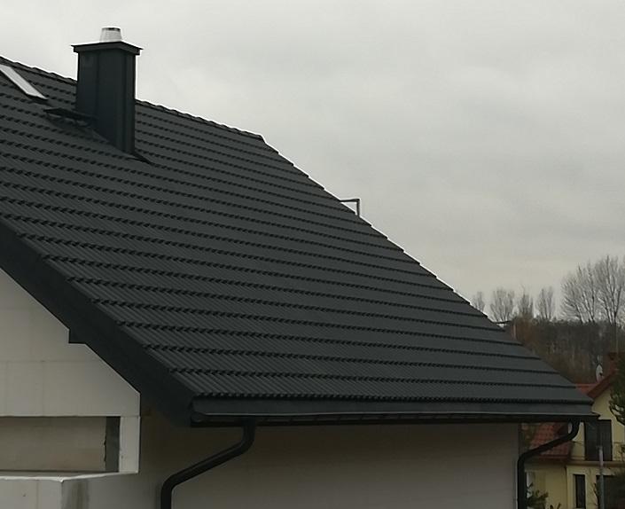 Nexmar Dachy Białystok- Creaton Heidelberg Cementowa Dachówka w Porosłach