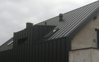 Nowoczesny Dom z Dachem  Ruukki Classic M – Nowa Realizacja Nexmar w Jurowcach