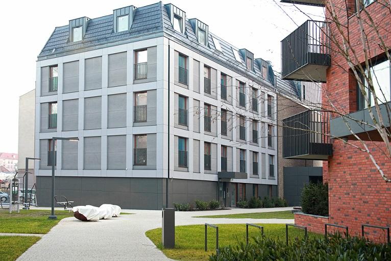 Nexmar Elewacje – 3D PANEL – nasz produkt  na elewacji apartamentowców River View w Gdańsku!