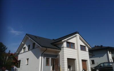 Nexmar Dachy – Osiedle w Grabówce z Dachami  z Dachówki Cementowej Creaton Goteborg