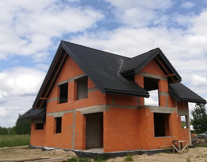 Dachy Białystok Skład Dachówki Nexmar Choroszcz Braas Dachówka Bałtycka Grafit – Skończony Dach w Henrykowie