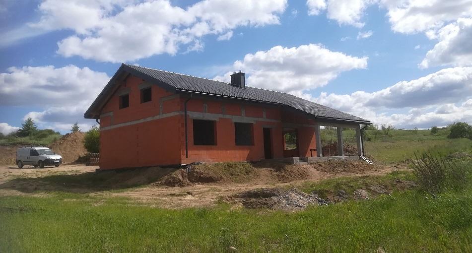 Nexmar Dachy Białystok- Dom w Fastach z Dachówką Braas Bałtycka