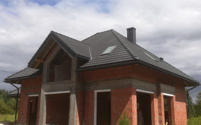 Dachy Białystok Nexmar- Skład Braas Dachówka Bałtycka Grafit – Dach w Karakulach