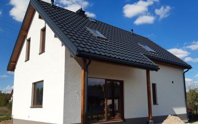Nexmar Dachy Białystok –  Dom w Konwencji Hygge z Dachem z Blachodachówki