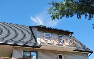 Dachy Białystok Nexmar –  REGLE – Panel Blaszany Pruszyński  Na Dachu Domu w Dąbrówkach – Wymiana Pokrycia Dachowego Nexmar