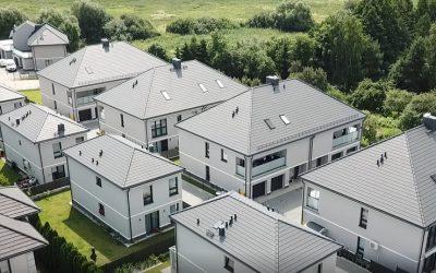 Nexmar – Wykonanie Pokryć Dachowych Domów Na Osiedlu Bacieczki – Inwestor: MDevelopment