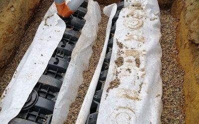 Zagospodarowanie Wody Deszczowej –  Tunele Rozsączające z Oferty Nexmar –  Realizacja