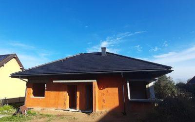 Dachy Choroszcz Nexmar – Creaton SIMPLA  Dachówka Ceramiczna w Kolorze Czarna Matowa Angoba