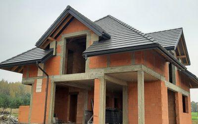 Nexmar Krycie Dachów Białystok  – Dachówka Teviva Grafitowy Cisar – Kolejny Skończony Dach