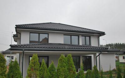 Dachówka Ceramiczna CREATON Titania Czarna Angoba – Realizacja Nexmar w Solniczkach