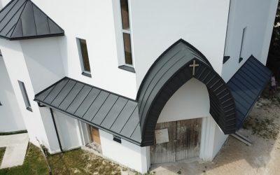 Wykonanie Pokrycia Dachowego z Blachy Aluminiowej Punto Marki Pruszyński Nexmar Dachy Białystok –  Rąbek Podwójny