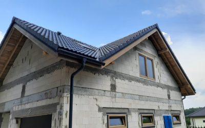 NEXMAR Dachy Białystok – Dachówka Cementowa GÖTEBORG Creaton – Budowa w Choroszczy