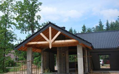 Dachówka Premion CREATON – Nexmar Dachy – Budowa w Niewodnicy Kościelnej